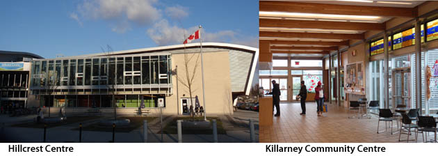 Hillcrest Centre, Killarney Community Centre